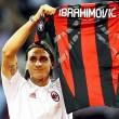 Zlatan Ibrahimovicot hivatalosan is bemutatták, mint AC Milan játékos a Serie A Lecce ellenni nyitófordulója...