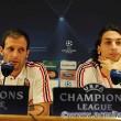 A szokásos sajtótájékoztatón Allegri és Ibrahimovic képviselte a csapatot...