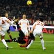 Az egykori Milan játékos, Borriello szerencsés góljával győzött a Roma