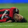 Az AC Milan két labdarúgója kórházba került kedd este, a Lazio elleni olasz bajnoki mérkőzésen...