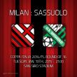 Íme a hivatalos kezdőcsapatok a ma esti Milan-Sassuolo Olasz kupa meccsre. A találkozót a DIGI...