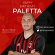 Ma ünnepli 31. születésnapját a Milan olasz középhátvédje, Gabriel Paletta. Paletta 1986. február 15-én született...