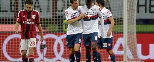 Milan-Genoa 1-3