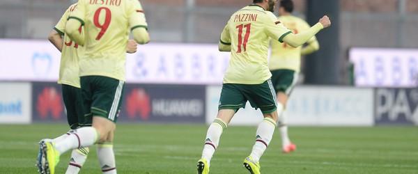 Udinese-Milan 2-1.
