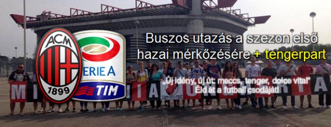 Új idény, új út: meccs, tenger, dolce vita!