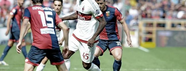Genoa-Milan 1-0.