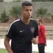 Hachim Mastour a szezonban még nem lépett pályára a Malaga csapatában, ugyanis nem kapta meg...