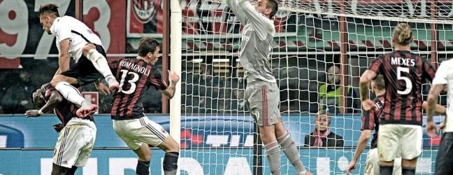 Milan-Atalanta 0-0.