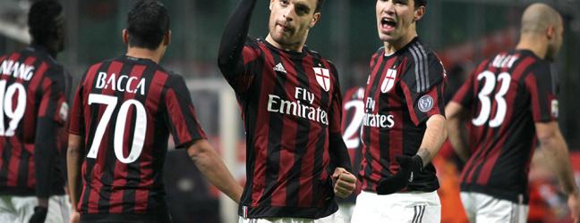 Milan-Sampdoria 4-1.