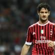 Alexandre Pato, a csapat korábbi támadója jelenleg Milánóban tartózkodik és természetesen a lapok azonnal összeboronálták...