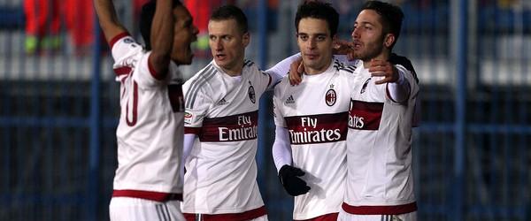 Empoli-Milan 2-2.