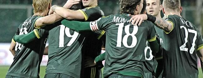 Palermo-Milan 0-2.