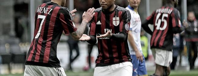 Milan-Frosinone 3-3.