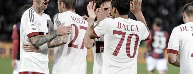 Bologna-Milan 0-1.