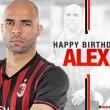 Alex, a Milan brazil hátvédje ma ünnepli 34. születésnapját. A rutinos védő 1982. június 17-én...