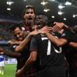 Sampdoria-Milan 0-1.