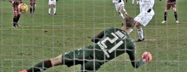 Torino-Milan 2-2.