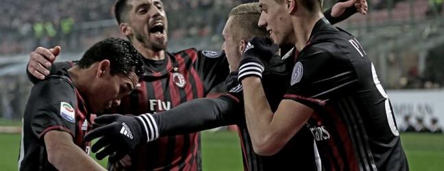 Milan-Fiorentina 2-1.