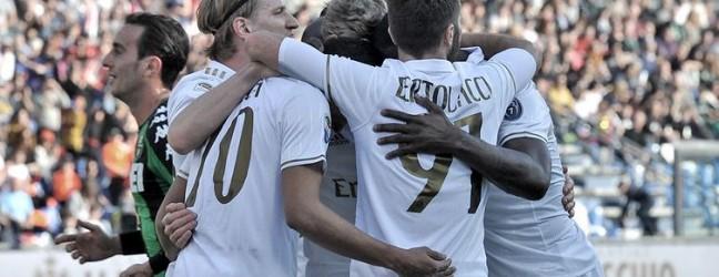 Sassuolo-Milan 0-1.