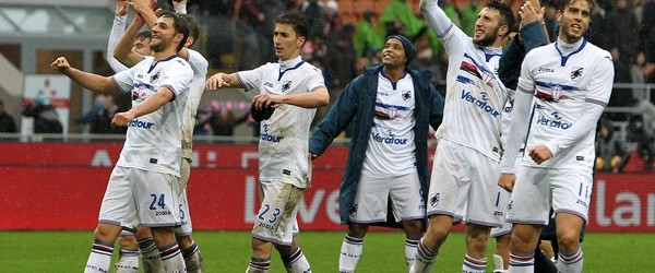 Milan-Sampdoria 0-1.