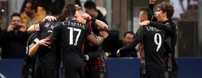 Milan-Genoa 1-0.