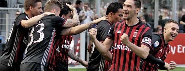 Milan-Palermo 4-0.