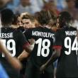 Egygólos előnyről várhatja a Milan a jövő heti EL-visszavágót.