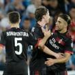 Rodriguez, a Milan svájci balhátvédje a Craiova ellen győzelmet érő góllal mutatkozott be.