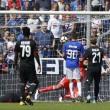 Sampdoria-Milan 2-0.