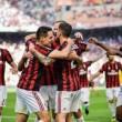 Milan-Udinese 2-1.