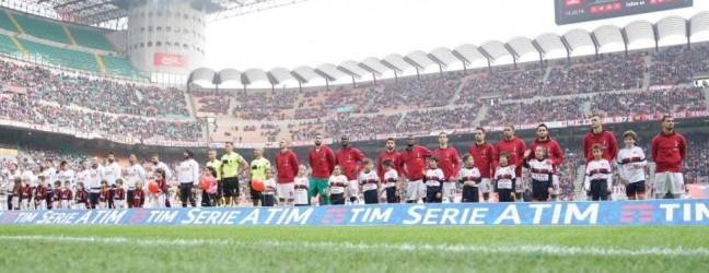 Milan-Genoa 0-0.