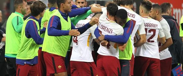 Milan-Roma 0-2.