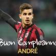 Ma ünnepli 22. születésnapját a Milan portugál válogatott támadója, André Silva. Silva 1995. november 6-án...