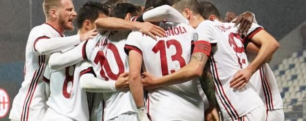 Sassuolo-Milan 0-2.