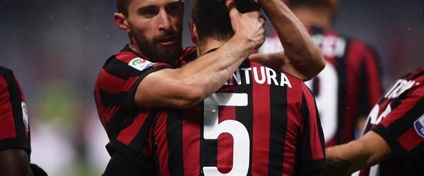 Milan-Bologna 2-1.