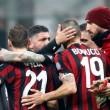 Milan-Crotone 1-0.