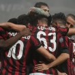 Milan-Lazio 2-1.
