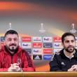 Gattuso a meccs előtt Ricardo Rodriguez társaságában nyilatkozott.
