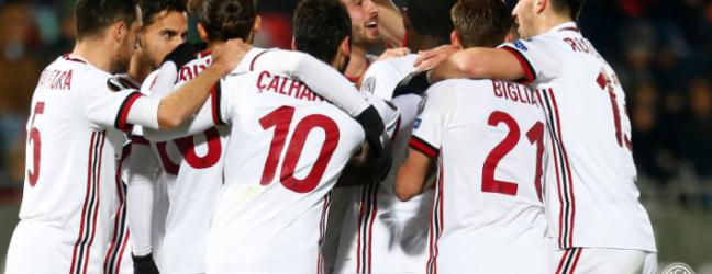 Ludogorets-Milan 0-3.