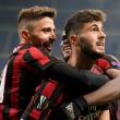 Milan-Ludogorets 1-0.