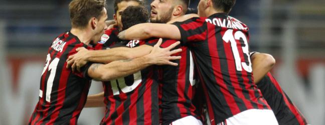 Milan-Sampdoria 1-0.