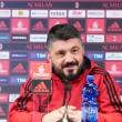Az olasz vezetőedző megtartotta meccs előtti sajtótájékoztatóját.