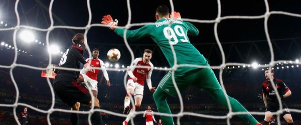 Arsenal-Milan 3-1.