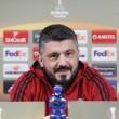 Az olasz szakember megtartotta sajtótájékoztatóját a meccs előtt.