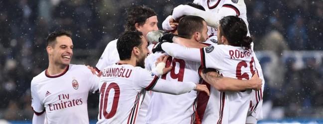 Lazio-Milan 0-0, büntetőkkel 4-5.