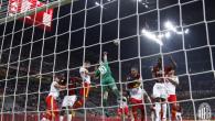 Milan-Benevento 0-1.