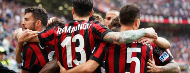 Milan-Hellas Verona 4-1.