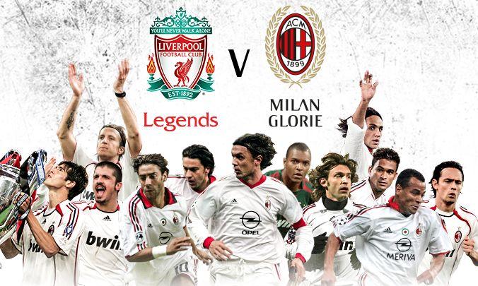 A legendák bajnoksága a mérkőzés egyik legfontosabb része volt